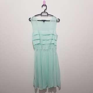 #JAN25 Forever 21 F21 Turqouise Dress