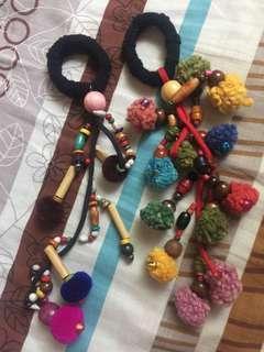 Peruvian Scrunchies/Hair accessories