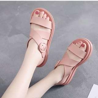 Nude pink sandal