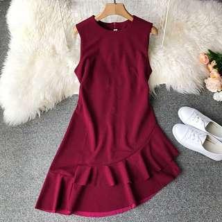 Red dress brand new