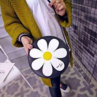 Floral Round Bag