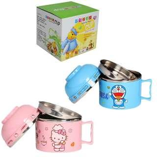 Hello Kitty & Doremon Meal Cup