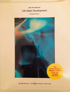 Life Span Development 14th ed. by Santrock 80% new