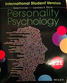 Personality Psychology 12th ed. by Cervone & Pervin 90% new