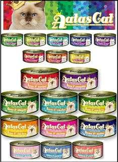 🚚 Atas canned wet food - all flavours