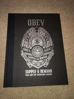 OBEY: Supply & Demand - The Art of Shepard Fairey - 20th Anniversary Edition Deluxe Edition Book