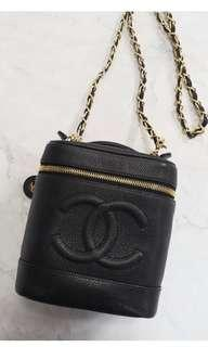 🈹95🆕Chanel vanity case buckle bag