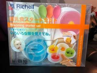 Richell Weaning BLW 嬰幼兒餐具