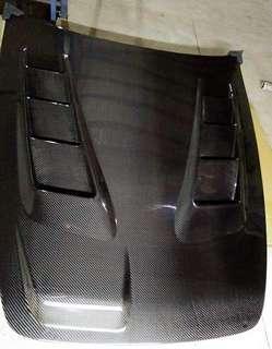 HONDA S2000 CARBON HOOD JS RACING