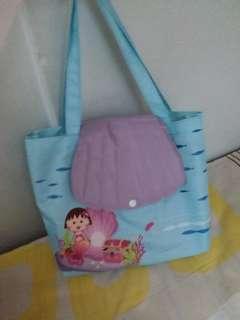 櫻桃小丸子人魚手袋