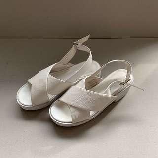 White Flatforms (Soles)