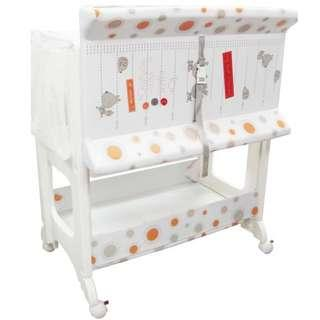 🚚 Lucky baby besto bath unit with changing station