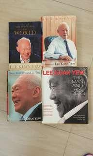 🚚 Lee Kuan Yew Books