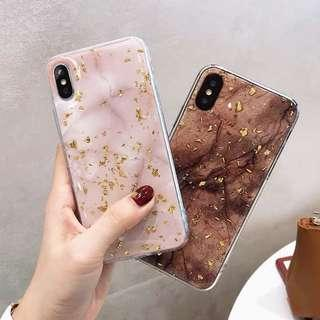 🚚 [PO] Glitter Marble Iphone Cover