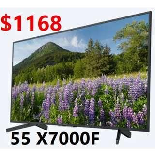 SONY 55 inch UHD 4K SMART LED TV X7000F 3 set only