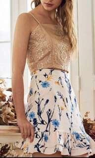 TCL Carnn printed skirt