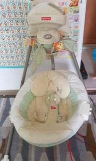 Papasan Cradle Swing