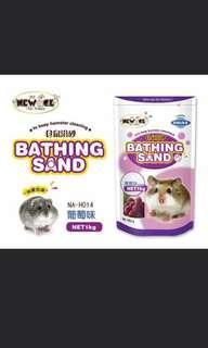 Hamster bathing samd