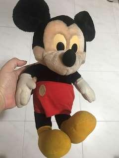Mickey Mouse Soft Toy about 20cm tall