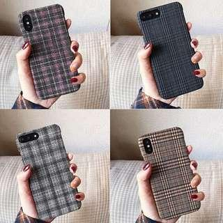 🚚 [PO] Checkered Iphone Hard Cover