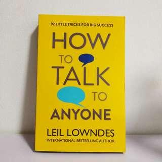 Brand New! How to Talk to Anyone by Leil Lowndes