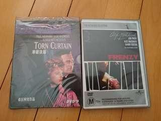 Alfred Hitchcock's classics - brand new unopen- Frenzy/Torn curtain