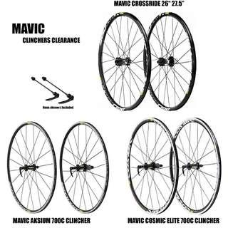 Mavic Wheelset Clearance