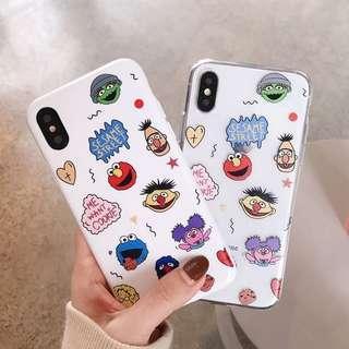 🚚 [PO] Graffiti Sesame Street Iphone Cover