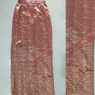 Flower Skirt Rok batik jarit jarik kondangan nikahan mantenan modern kain singkat