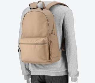 🚚 Light Brown Backpack Uniqlo