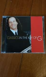 Kenny G classics in the key of G cd
