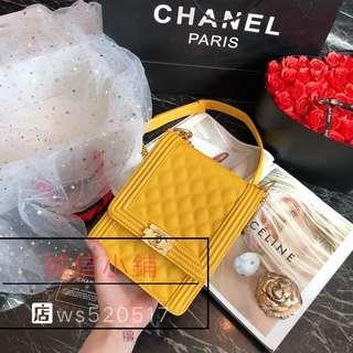 Chanel 香奈兒錢包 長款鏈條小包按扣錢包 大容量多卡位小香風 香奈兒長夾包包