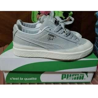 🚚 PUMA 平底休閒鞋 板鞋 灰色 附鞋盒