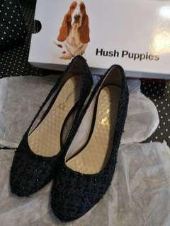 Hush Puppies shoes (Blue-Black) 船踭鞋(籃黑色)