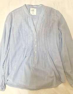 H&M Blue and White pinstripes (Preloved)