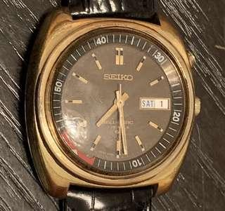 🇯🇵 Vintage SEIKO 精工 Bellmatic (April 1972) Automatic Gold With Rare Brown Dial Watch❤️