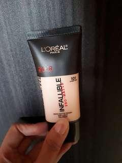 """L'oreal Infallible Pro Matte """"101 Classic Ivory"""""""