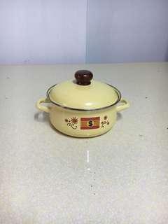 🚚 雙耳珐瑯湯鍋