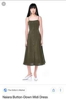 TEM Naiara button down dress