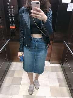 🚚 Zara牛仔裙