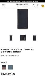 RUFINO LONG WALLET
