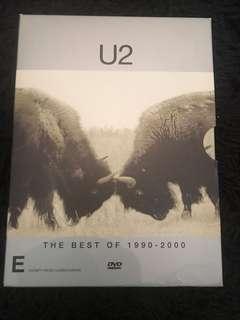 U2 the best of 1990 - 2000 dvd