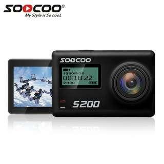 Soocoo s200 4K action camera