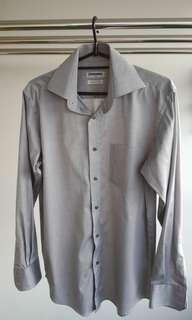 Mint condition RENOMA grey/silver shirt