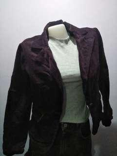 Violet blazer