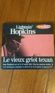 jazz music Lightnin' Hopkins CD