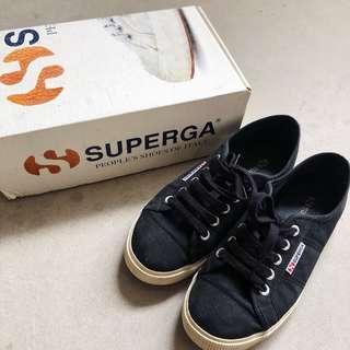 Superga 2950 Cotu in Black