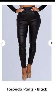 Torpedo Pants Black