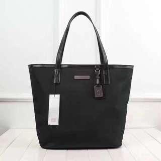 Calvin Klein Jeans Black Nylon Tote