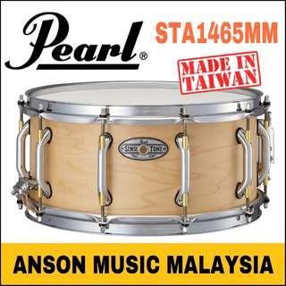 Pearl STA1465MM Sensitone Premium Maple Snare Drum, Satin Maple